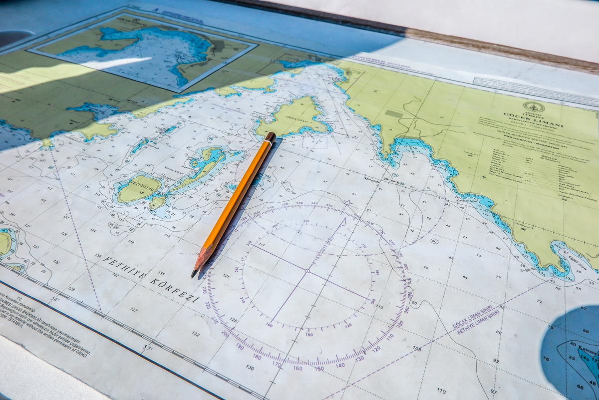 Яхтенная мильная практика на Ликийском побережье Турции осень  010